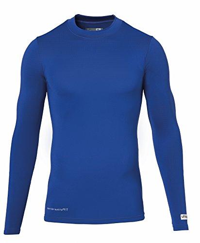 Uhlsport - Baselayer Distinction - Maillot à manches longue - Homme - Bleu (Royal) - Taille: L