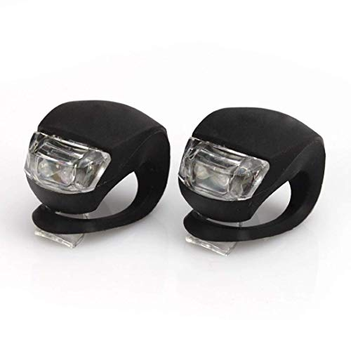 1 Par Led luz muy brillante bicicletas Bike Led Monte