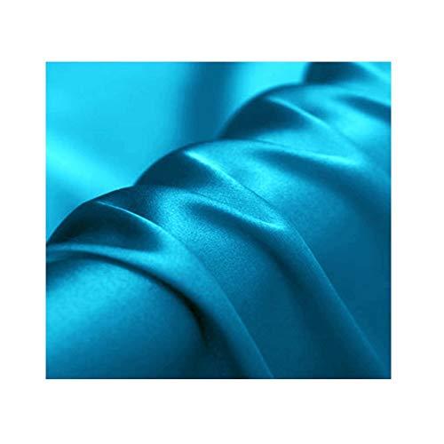 Anquanwang Silk Stof/Weefsel satijnen jurk Taffeta Zijdeachtige elastische kracht ondergoed Upscale tafelkleed kussen