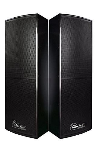 Check Out This IDOLpro 1500W Professional Floor Standing Speakers – (Pair)