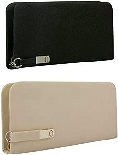 Rasm Lifestyle Women's wallet Clutch Combo Of 2