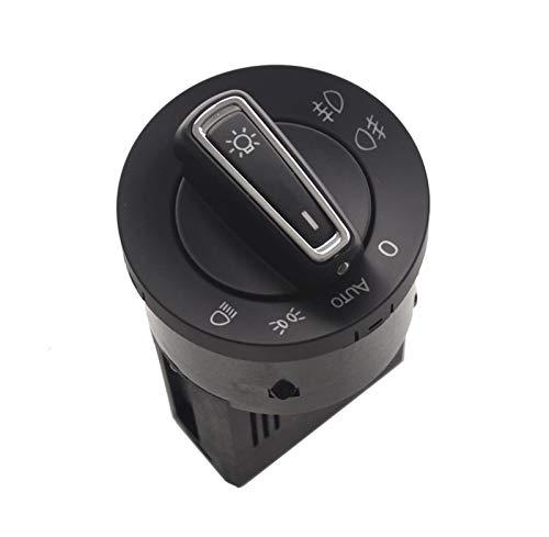 YYOMXXOM Módulo de Interruptor de Faros automáticos Ajuste para VW Golf MK4 Passat B5 Polo Bora Beetle TIGUAN TOURAN (Color : Built in Sensor)