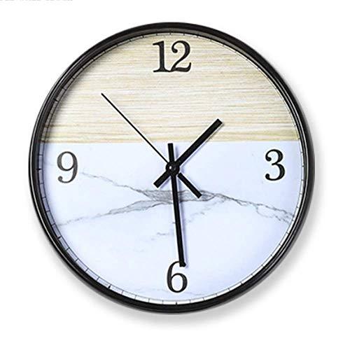 MNBVCX Fashion Wall Clock Simple Clocks Living Room Wall Table Wall Decoration Clock Creative Wall Clock