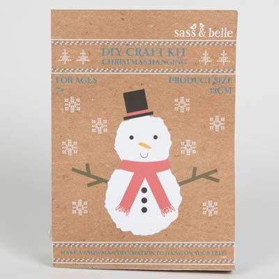 Snowman Christmas Decoration DIY Kit