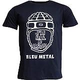 Religion Rugby - T-Shirt J'Ai Mal au Casque - Bleu Metal - XL