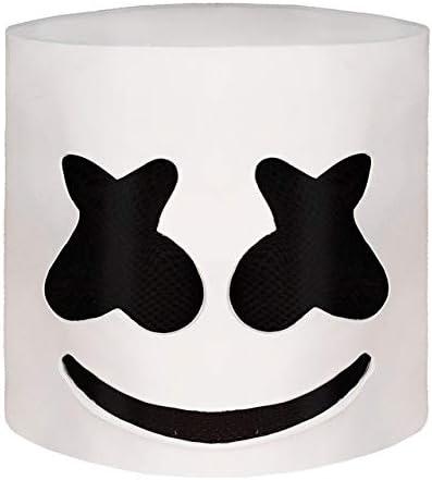 White Helmet Mask San Antonio Mall Cosplay Prop Latex Party depot Halloween Masks