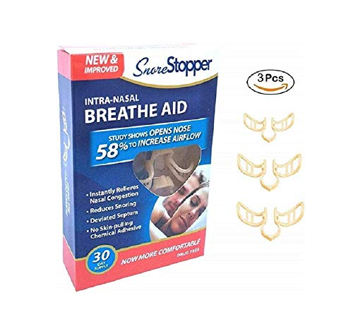 Shree Shringar Fashion New & Improved Intra-Nasal Breathe AID Snore Stopper For Men & Women
