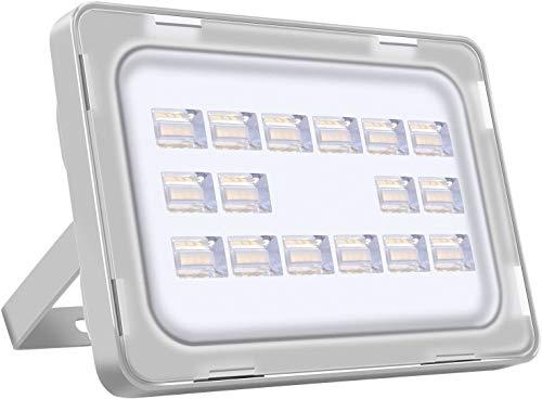 XXZJD 50W LED Al Aire Libre Luz De Inundación, 6000LM Super Brillante Luces De Seguridad, IP65 A Prueba De Agua, Ideal para Jardín, Estacionamiento, Patio (Color : Cold White, Size : 50W)