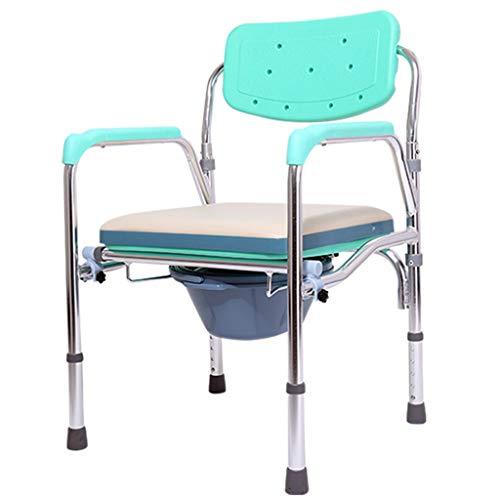Silla de Cama con cabecera médica | para Uso en el baño Junto a la Cama | Cómoda de cabecera móvil, Sentarse y bañarse | Ancianos, Recuperación de cirugía, Discapacitados
