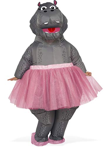 Rubie's Costume Co. Men's Inflatable Hippo Costume, As Shown, One Size