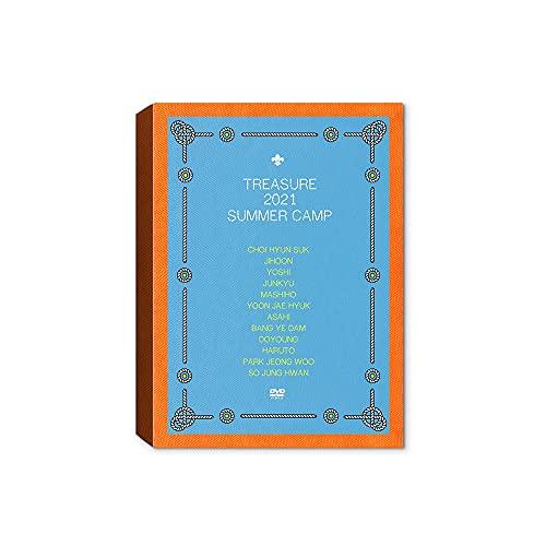 Treasure 2021 SUMMER CAMP [Incl. YG Select Exclusive Pre-Order Benefit] (DVD Ver.)