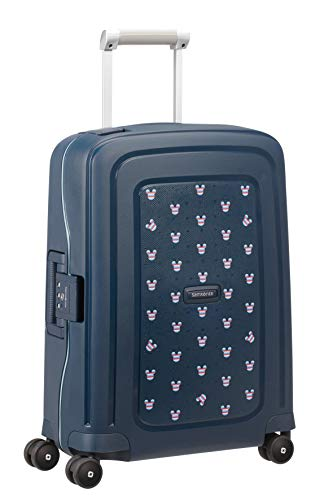 Samsonite S'Cure Disney Equipaje de Mano 55 Centimeters 34 Azul (Mickey Summer...