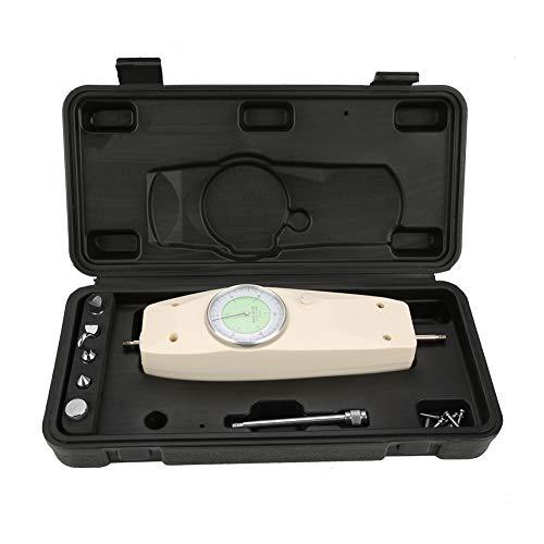 LANTRO JS - Medidor de fuerza 300N, dinamómetro analógico, probador de instrumentos de medición de fuerza, medidor de fuerza de empuje y tracción, con caja de almacenamiento portátil