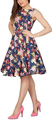 'Audrey' Vintage Divinity Kleid im 50er-Jahre-Stil - 7