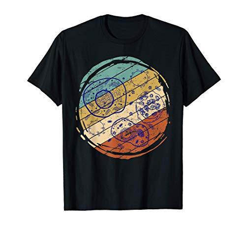 Microbiología Científico Biologío Regalo Retro Biología Camiseta