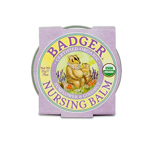 Badger Organic Nursing Balm - Sunflower & Coconut - 0.75oz