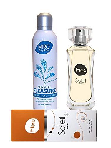 MIRO SOLEIL Eau de Parfum Spray 50 ml + Miro Dusch Schaum 200 ml