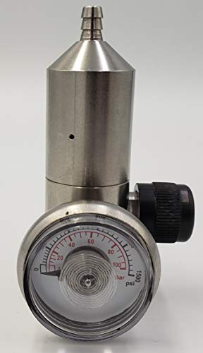 0.25lpm Altair 4, 4X, 4XR, Orion, Solaris Stainless Steel Fixed Flow Calibration Gas Regulator - C10