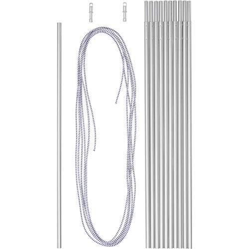 Zeltgestänge Aluminium (Farbe: silber)