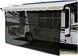 Carefree 701509 Black 15' x 9' Drop RV Awning EZ ZipBlocker