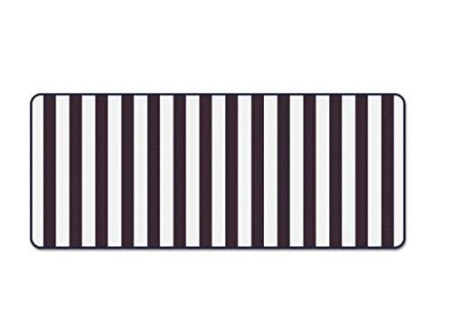 Tapijt, zwart en wit strepen slaapkamer bed ingang invoeren van de deur antislip rechthoek tapijt