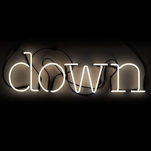 SELETTI 'Composition Down 4 Lettres Neon + Transformateur 01424 – 6 KV