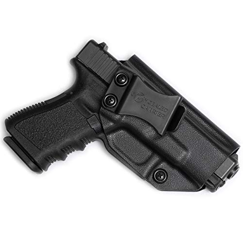 Glock 17 19 22 23 26 27 31 32 33 45 (Gen 1-5) IWB Holster - Combat Veteran Owned Company - Inside The Waistband Concealed Carry - Adjustable Retention...