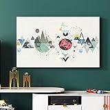 XIAOZHEN Tv Abdeckung Dreiecksgeometrie TV-Cover Staubschutz Hängen Computergehäuse (Color : BH32-14, Size : 40-43inch)