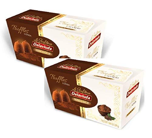 La Confiteria Delaviuda Trüffel Kakao / Tartufini al Cacao - 2 x 100 Gramm