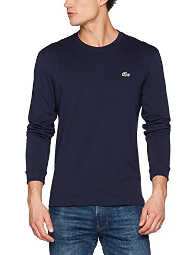 Lacoste Sport TH0123 T-Shirt, Marine, XL Homme