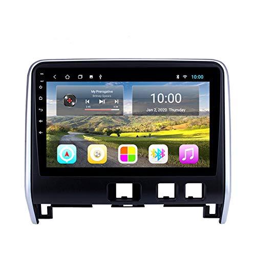 Unidad Principal De Radio con Navegador GPS Estéreo para Coche Android para Nissan Serena 2016-2018 Soporte Enlace Espejo/SWC/Bluetooth/USB/WiFi/Dab/AUX