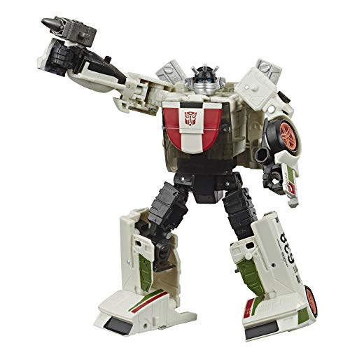Transformers Spielzeug Generations War for Cybertron: Earthrise Deluxe WFC-E6 Wheeljack Action-Figur – Kinder ab 8 Jahren, 14 cm