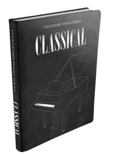 Legendary Piano: Classical Solos, Piano álbum de 45Popular con unidades de J.S. Bach hasta Ludovico Einaudi Partituras gebunden