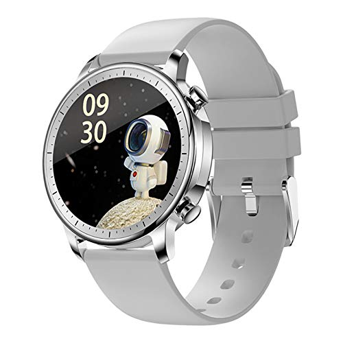 LWP New V23 Pro Men's Women's Womenwatch Smartwatch Full Touch Fitness Tracker IP67 Presión Arterial Impermeable Hombre Smartwatch para iOS Android,C