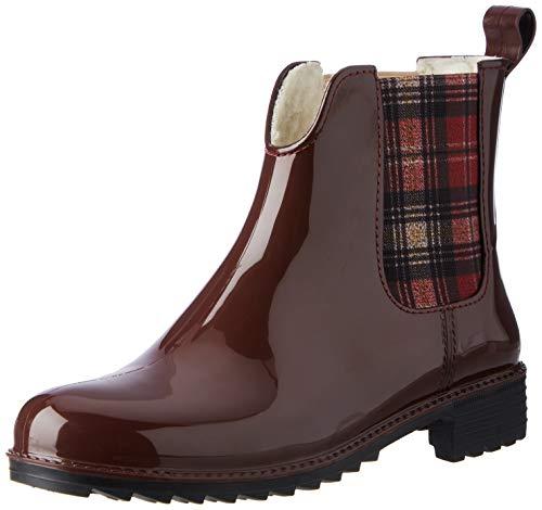 Rieker Damen P8280 Chelsea-Stiefel, rot, 40 EU