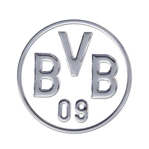 Borussia Dortmund BVB 89140430 Auto-Aufkleber in Silber