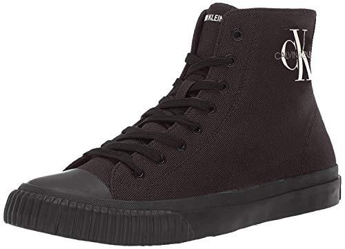 CK Jeans Men's ICARO Shoe, Black Canvas, 9 M US