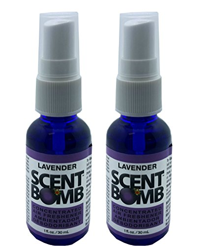 Scent Bomb Super Strong 100% Concentrated Air Freshener - 2 PACK (Lavender)