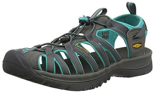 Keen Damen WHISPER Sport- & Outdoor Sandalen, Grau (Shadow/Ceramic), 39 EU