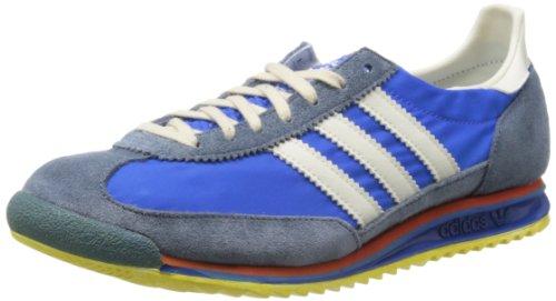 adidas SL 72 Vin, Zapatillas Hombre, Azul/Blanco/Rojo/Amarillo, 10