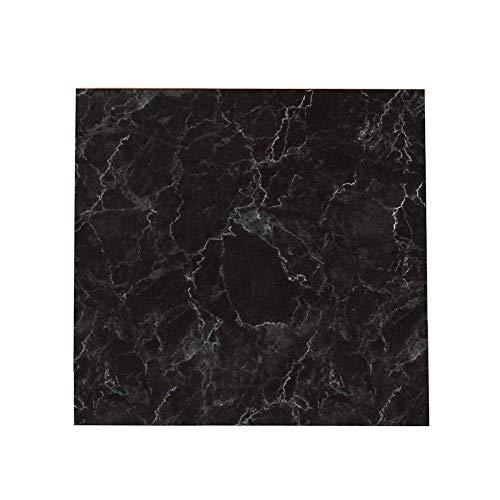 Fliyeong - 20 adhesivos para azulejos (20 x 11 mm), color negro mármol PVC, autoadhesivos, impermeables, para cocina, baño, dormitorio, sala de estar, portátil y útil