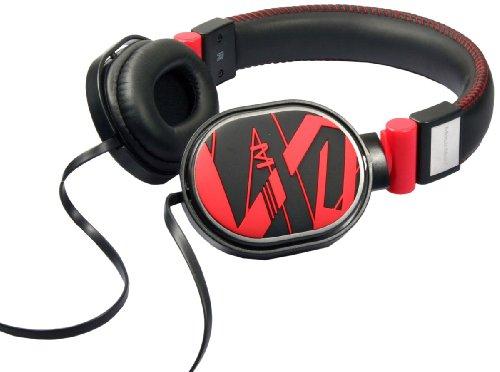 MusicMan TXX3783 Bass Style Stereo-Kopfhörer rot