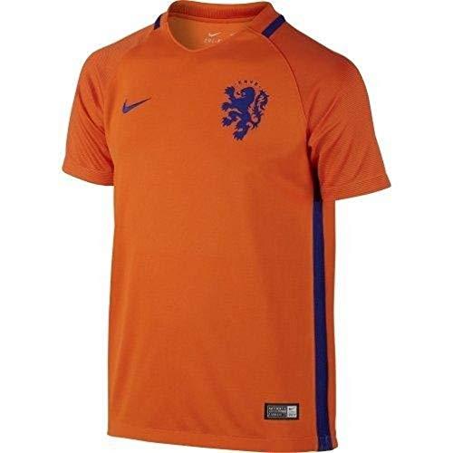 Nike KNVB YTH SS AW Stadium JSY–Trikot Offiziellen XS orange