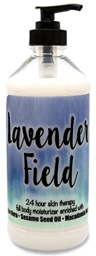 The Lotion Company 24 Hour Skin Therapy Lotion, Lavender Field, 16 Ounce