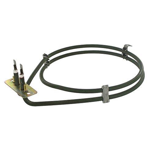Elemento de ventilador para horno compatible con AEG/Neff Competance, 2000 W