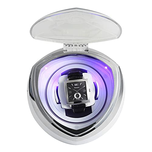 ANTLSZH Raya De Reloj Automática para 1 Reloj con Motor Tranquilo, Adecuado para Reloj De Pulsera para Hombres Y Damas(Color:Blanco)