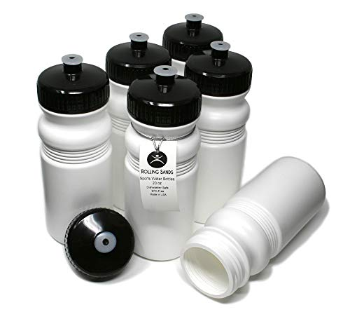 Rolling Sands 20 Ounce Sports Water Bottles 6...