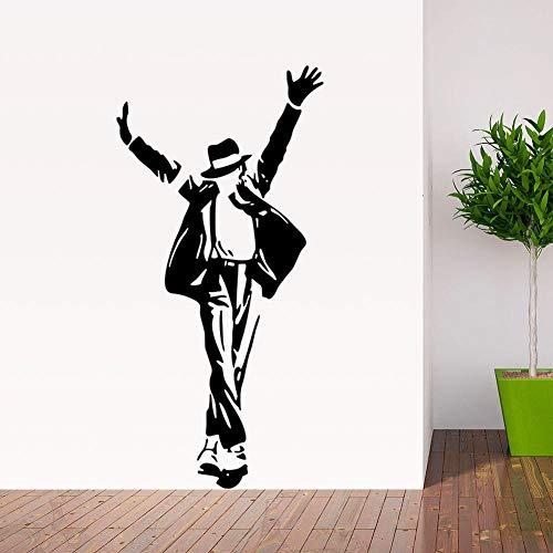 Pegatinas De Pared Para Hombre Bailando Pegatinas De Vinilo Para Pared Posturas De Baile Sexis Decoración De La Pared De La Sala De Estar Del Dormitorio 69Cm * 36Cm