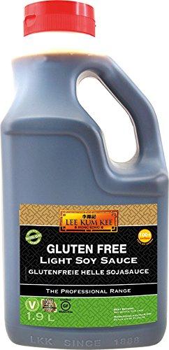 Lee Kum Kee Salsa De Soja Clara Sin Gluten (Original De China, Elaborada Naturalmente, Sin Potenciadores Del Sabor, Sabrosa) 2340 g