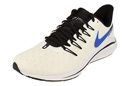 Nike Air Zoom Vomero 14 Hombre Running Trainers AH7857 Sneakers Zapatos (UK 10 US 11 EU 45, White Blue Platinum 101)